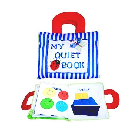 Dyles - My Quiet Book - Blue Stripe