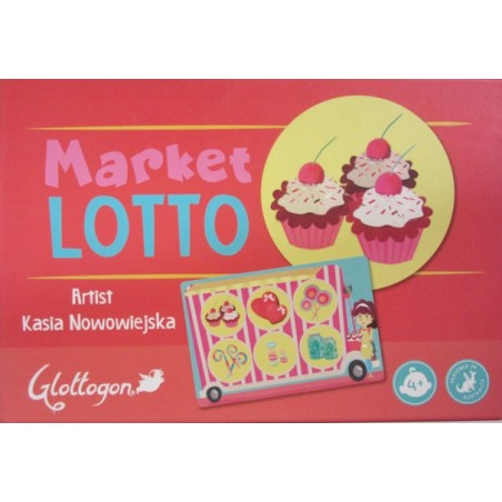 """Glottogon"" Lotto - Market"