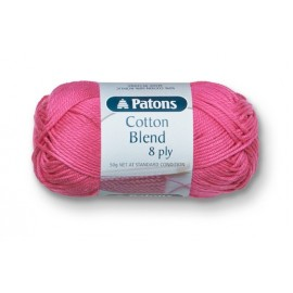 Cotton Blend 8 Ply - Patons - 50g