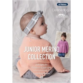 Junior Merino Collection Book 355 - Patons,Cleckheaton & Shepherd
