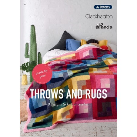 Throws and Rugs - Patons, Cleckheaton & Panda