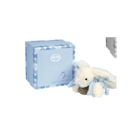 Histoire d'Ours - Lapin Bonbon - Rabbit - 20cm - Blue