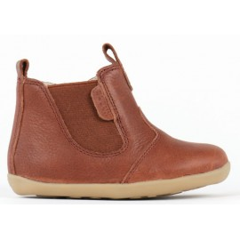 Bobux Step Up - Toffee Jodphur Boot - Brown