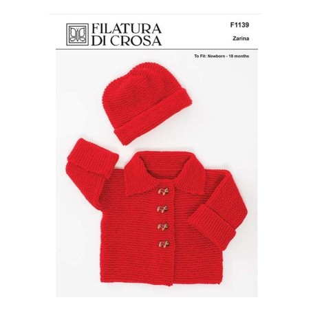 Filatura Di Crosa - Zarina Jacket & Hat
