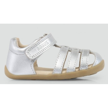 Bobux - Step Up Silver Jump Sandal