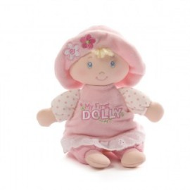 Baby Gund - My First Dolly Blonde with Rattle 18cm