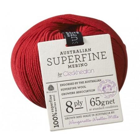 Australian Superfine Merino 8ply - Cleckheaton