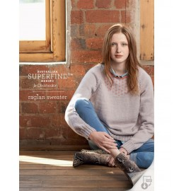Australian Superfine Merino by Cleckheaton - Knitted Raglan Sweater