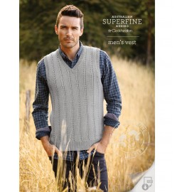 Australian Superfine Merino by Cleckheaton - Knitted Men's Vest