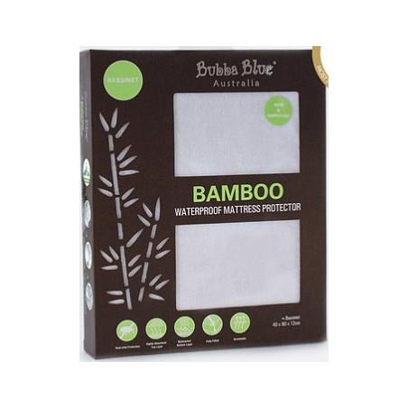 Bubba Blue - Bamboo Waterproof Mattress Protector - Bassinet