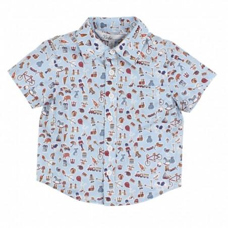 Bebe - Liberty Short Sleeve Shirt - Little Treasures