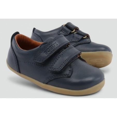 Bobux - Step Up Swap Boys Dress Shoe Navy