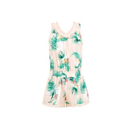 Seafolly - Hawaiian Rose Fringing Jumpsuit