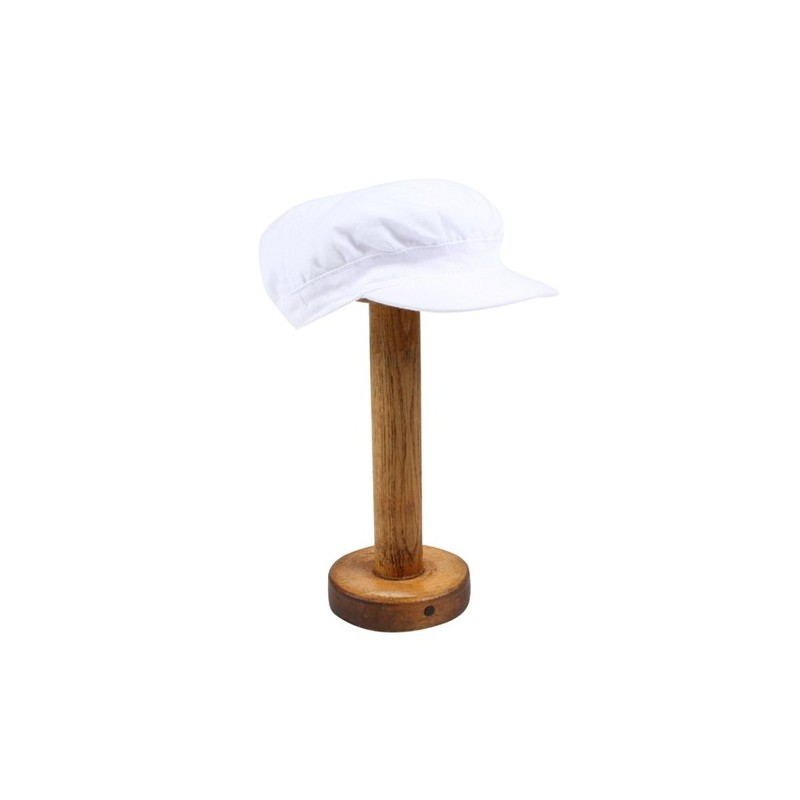 Bebe - Special Occasion Linen Blend Soft Cap - White