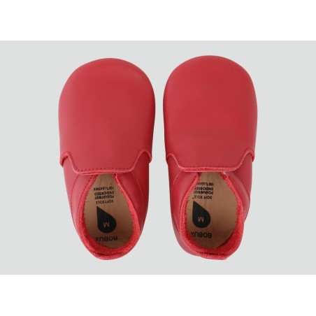 Bobux - Soft Sole Red Loafer