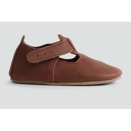 Bobux - Softsole Toffee Glossy T-Bar