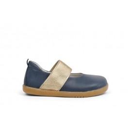 Bobux - I Walk Demi Ballet Shoe Navy