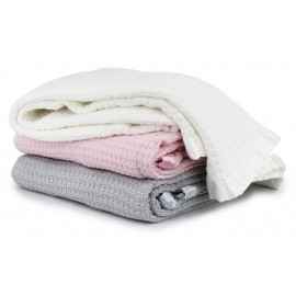 MOSS WEAVE COTTON BLANKET -...