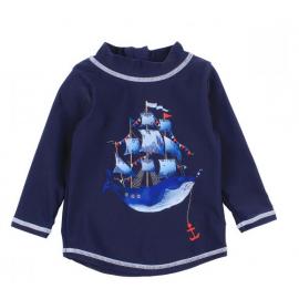 Bebe Cory whale Rash Vest -...