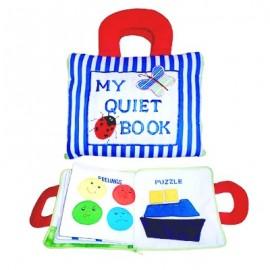 My Quiet Book - Blue Stripe