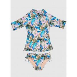 Aqua Blu - Girls Rash Vest...