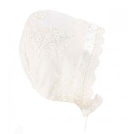 Bebe - Lace Bonnet - Ivory