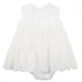 Bebe - Lace Overlay Romper...