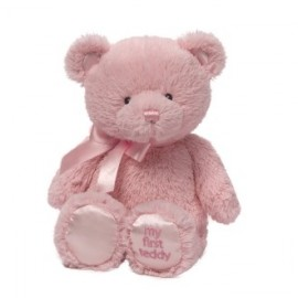 """Baby Gund"" My First Teddy - Pink 25cm"