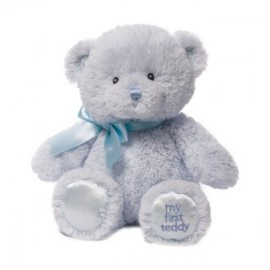 """Baby Gund"" My First Teddy - Blue 25cm"