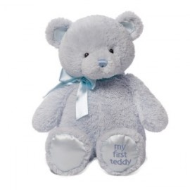 """Baby Gund"" My First Teddy - Blue 46cm"