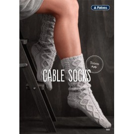 Patons Cable Socks Leaflet TL0002 - 0020