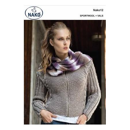 Nako 12 - Jacket & Scarf - Sportswool & Vals