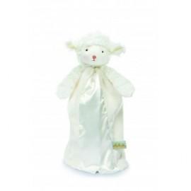 Bunnies By The Bay - Bye Bye Buddy Kiddo Lamb - White
