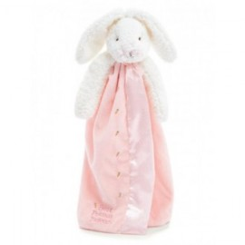 Bunnies By The Bay - Buddy Blanket Blossom Bunny Pink