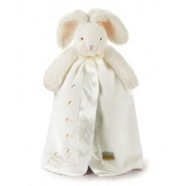 """""""Bunnies by the Bay"""" BUDDY BLANKET BUNNY WHITE"""