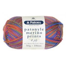 Patons - Patonyle Merino Prints 4 Ply - 50g