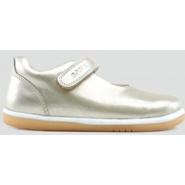 Bobux I Walk Molten Gold Mary Jane