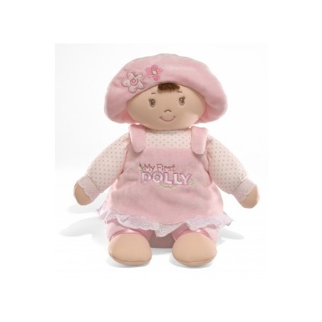 Baby Gund - My First Dolly Brunette 33cm