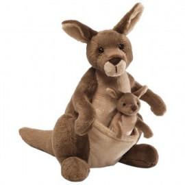 Gund - Jirra Kangaroo with Joey 25cm