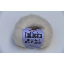 """Indiecita"" Baby Suri Alpaca/Silk Brushed"