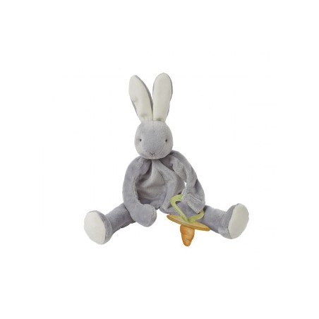 Bunnies By The Bay - Silly Buddy Grady Bunny Grey 25cm