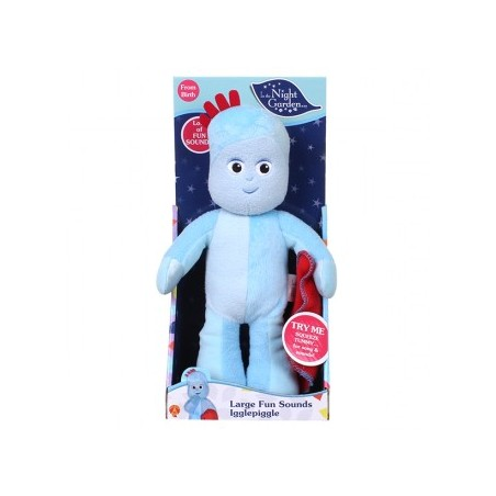 Large Fun Sounds Igglepiggle Soft Toy 30cm
