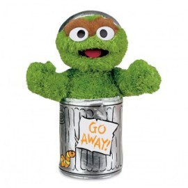 Sesame Street Oscar the Grouch Soft Toy 25cm