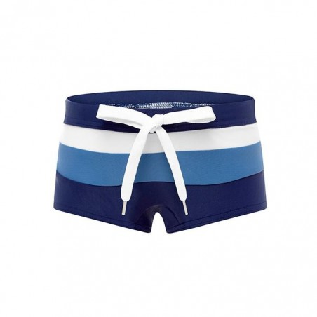 Wave Rat - Building Blocks Retro Trunks - Navy