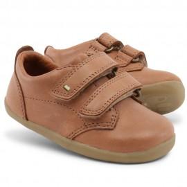Bobux - Step Up Port Boys Dress Shoe Caramel