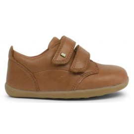 Bobux - Step Up Port Boys Dress Shoe Caramel