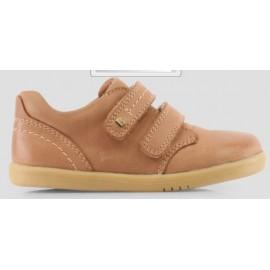 Bobux - I Walk Port Boys Dress Shoe Caramel