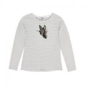 Tahlia - Seattle Humming Bird Top - Navy/Cloud