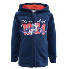Thomas Cook - Boys Signature Zip Thru Hoody - Navy