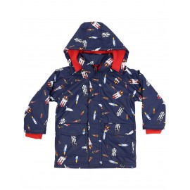 Korango - Spaceship Raincoat - Navy